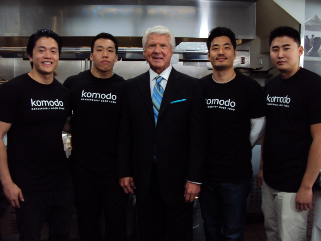 Coach Jimmy Johnson & Komodo for Intuit